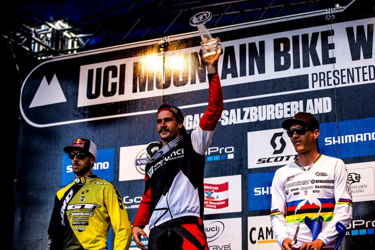 Stevie Smith 2013 DH World Cup Overall Champion
